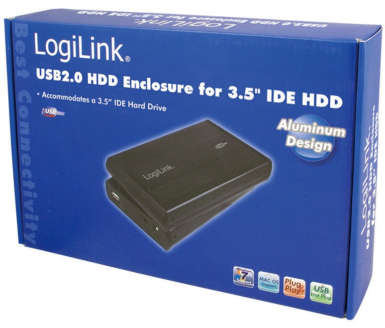 Logilink External HDD Enclosure 3.5 USB UA0066