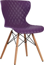 Home4you Office Chair Charles Purple 21024