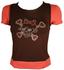 Футболка Bars Womens T-Shirt Brown/Pink 101 XS