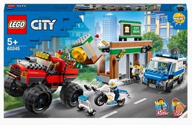 Конструктор LEGO City Ограбление полицейского монстр-трака 60245, 362 шт.