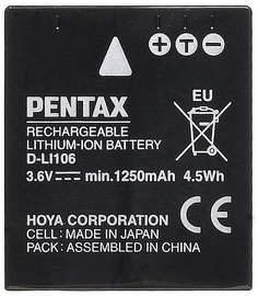 Pentax D-LI106 Lithium-Ion Battery 1250mAh