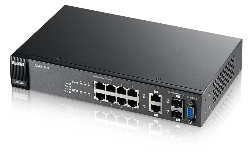 ZyXEL GS2210-8 8-port
