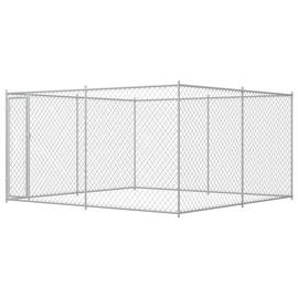 Koerapuur VLX Outdoor Dog Kennel, 3830x3830x1850 mm