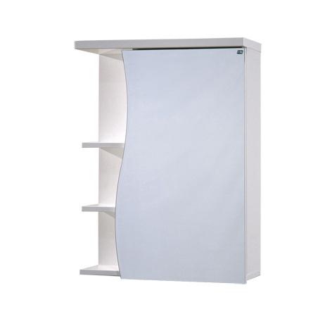 Vonios spintelė su veidrodžiu Raguvos baldai Rasa RV55M