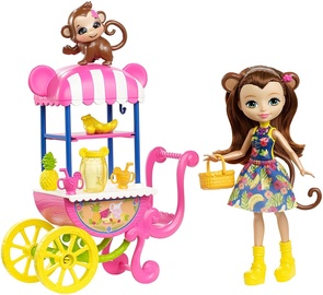 Mattel Enchantimals Fruit Cart Doll Set FCG93