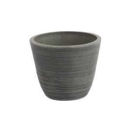 Вазон Green Ship Flower Pot 13D10 D10 H8.2 Grey