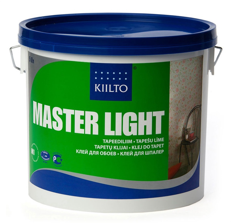 TAPEŠU LĪME MASTER LIGHT 5L (KIILTO)