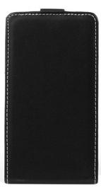 Mocco Kabura Rubber Vertical Case For Huawei Mate 20 Lite Black