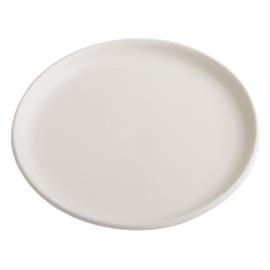 SN Ceramic Pot Plate L-5 Ø19cm White