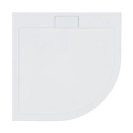 Dušialus AXIM ULTRASLIM, poolringikujuline, 90 x 90 x 4.5 cm