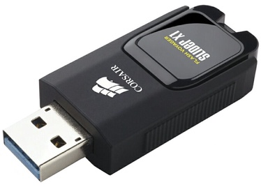 USB atmintinė Corsair Voyager Slider X1, USB 3.0, 64 GB