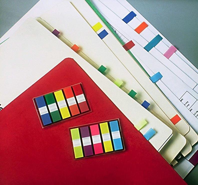 3M Post-It Page Index Flags 4x50pcs