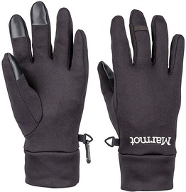 Marmot Womens Gloves Power Stretch Connect Black L