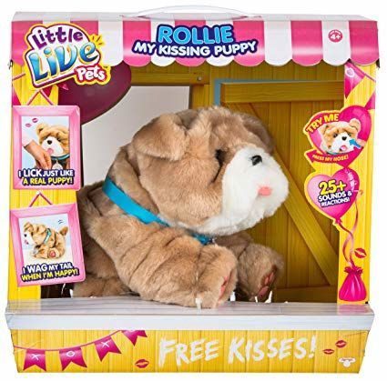 Moose Little Live Pets Rollie My Kissing Puppy 28669