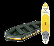 Лодки, доски для гребли и принадлежности