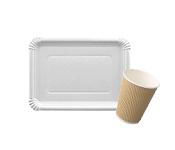Одноразовая посуда и столовые принадлежности