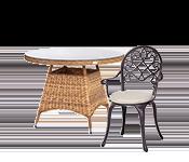 Aiamööbel ja terrassimööbel