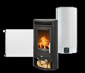 Устройства для отопления, топливо, обогреватели
