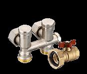 Sanitaartehnika ühendusdetailid, ventiilid
