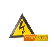 Предупредительные знаки и ленты