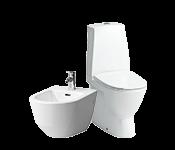 WC-potid, bideed, pissuaarid ja tarvikud