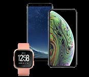 Телефоны, смарт-часы, товары Apple