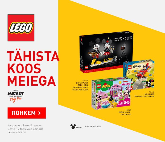 LEGO TÄHISTA KOOS MEIEGA