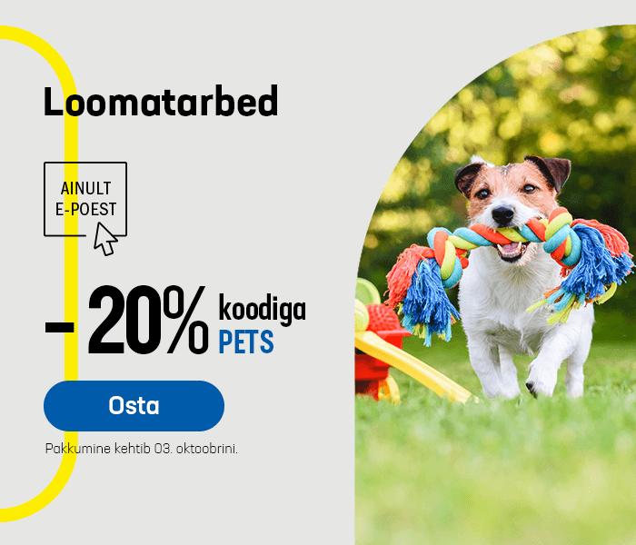 Loomatarbed -20% koodiga PETS
