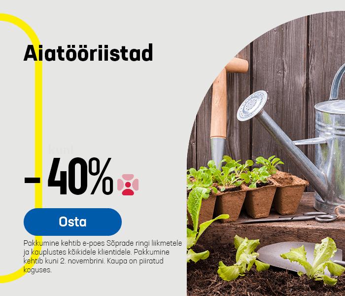 Aiakäsitööriistad -40%
