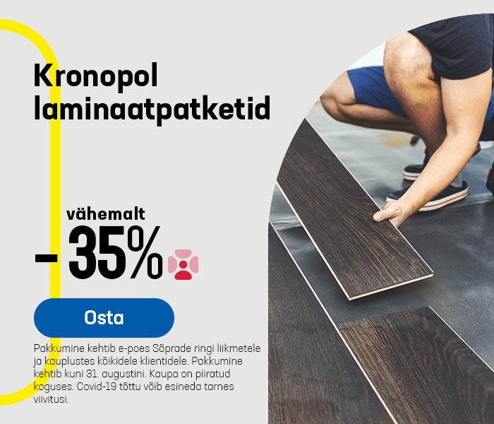 Kronopol laminaatpatketid vähemalt -35%