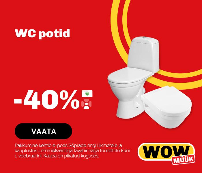 WC potid - 40%