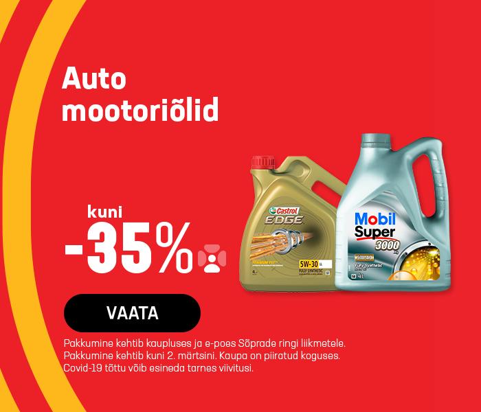 Auto mootoriõlid KUNI -35%