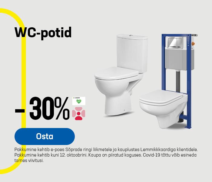 WC-potid -30%