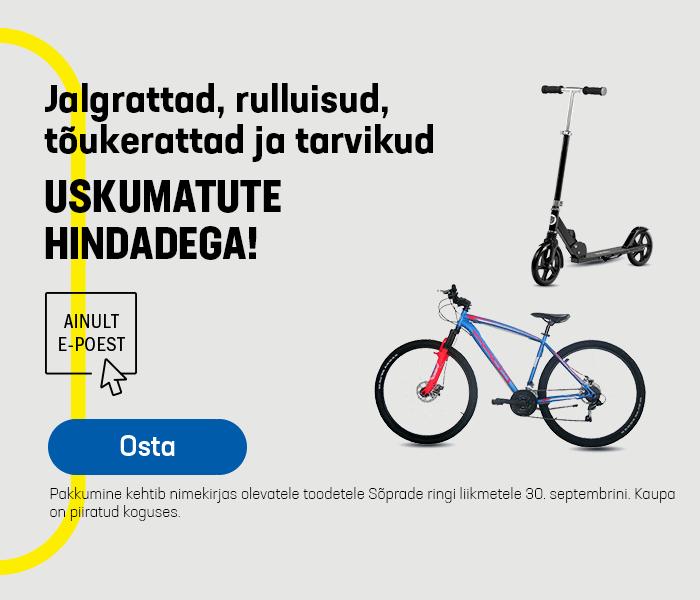 Jalgrattad uskumatute hindadega!