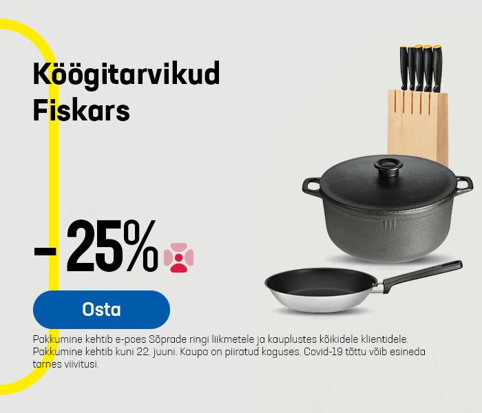Köögitarvikud Fiskars -25%