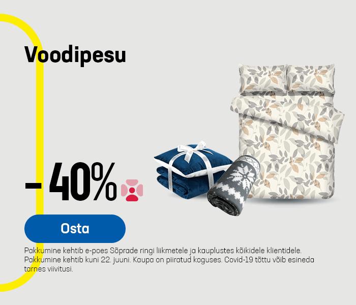 Voodipesu - 40%
