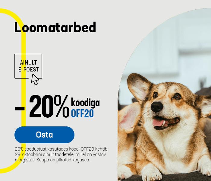 Loomatarbed -20% koodiga OFF20
