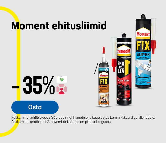 Moment ehitusliimid -35%