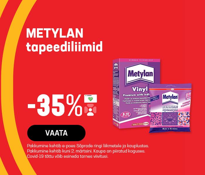 METYLAN tapeediliimid -35%