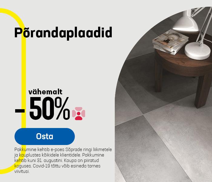 Põrandaplaadid vähemalt -30%