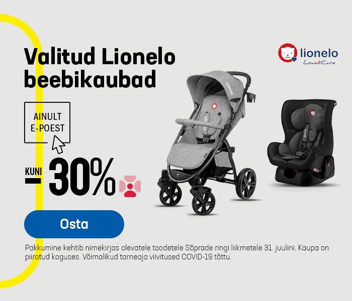 Valitud Lionelo beebikaubad kuni -30%