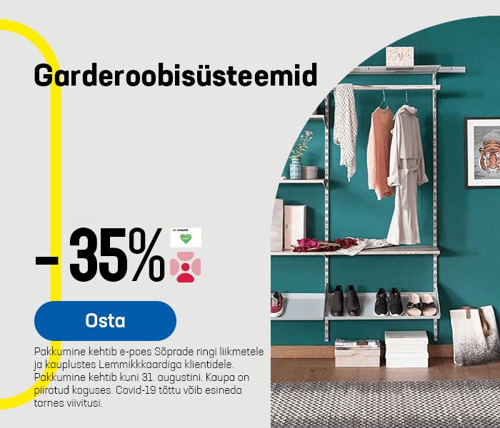 Garderoobisüsteemid -35%