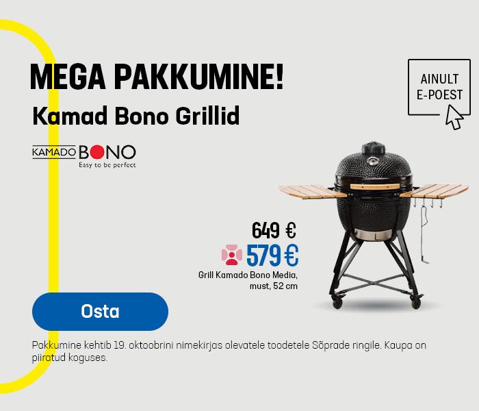 MEGA PAKKUMINE Kamad Bono Grillid