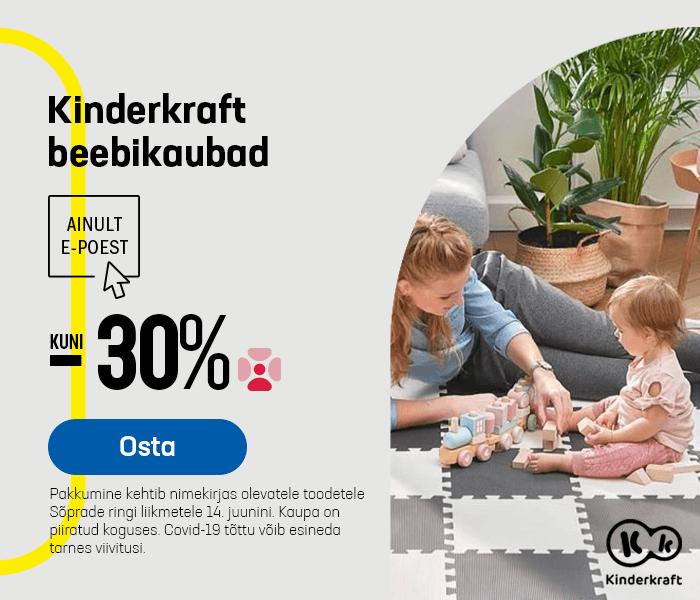 Kinderkraft beebikaubad kuni -30%
