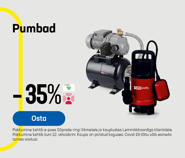 Pumbad -35 %