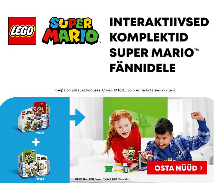 LEGO - SUPER MARIO ÜHENDA JÕUD JA SEISA SILMITSI UUTE SEIKLUSTEGA