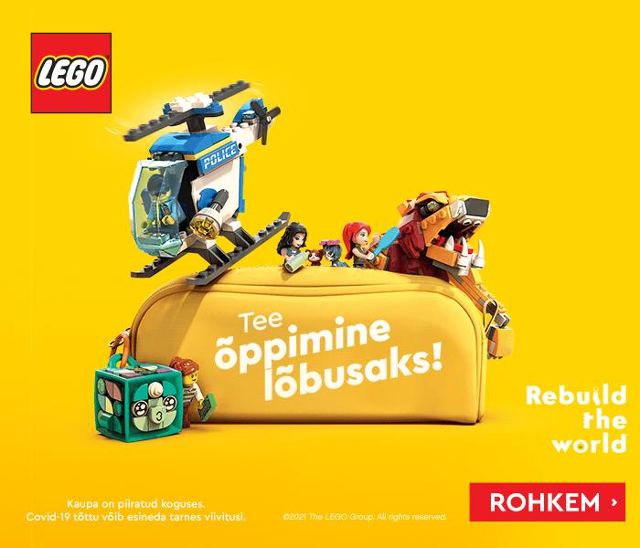 LEGO - Tee õppimine lõbusaks! Rebuild the world