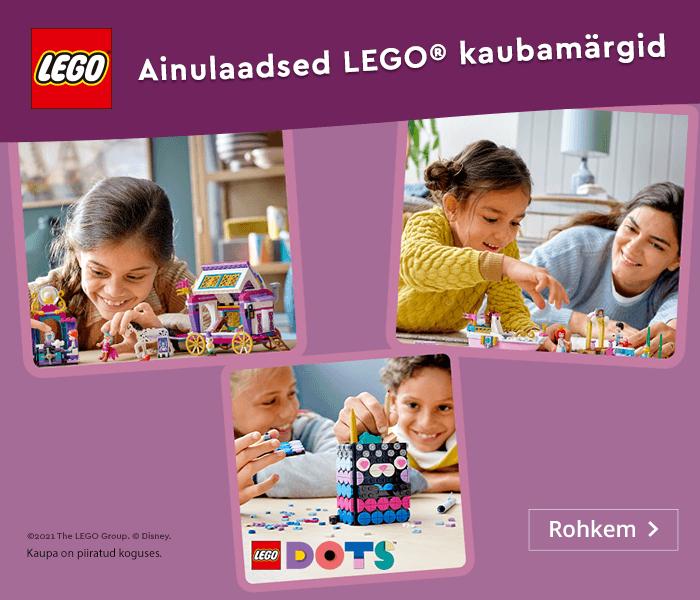 Ainulaadsed LEGO® kaubamärgid
