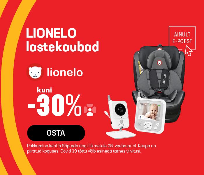 Lionelo lastekaubad kuni -30%