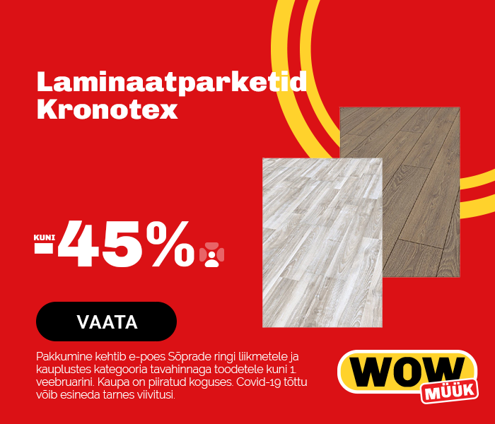 Laminaatparketid Kronotex kuni -45%